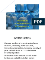 Distilled Water Unit