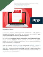 Google facilitará guardar archivos PDF editados desde Chrome _ Comunicación Marketing