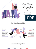 Our Team Infographics by Slidesgo