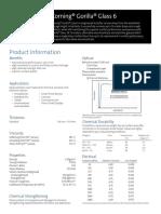 Corning Gorilla Glass 6_PI Sheet