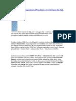 Membuat laporan crystall report dengan koneksi Visual basic