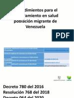 NORMATIVIDAD VENEZOLANOS
