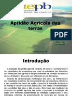 Aptidão Agrícola das terras