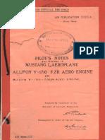 Mustang Mk1 pilots notes