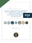 2010 U.S. Intellectual Property Enforcement Coordinator Annual Report on Intellectual Property Enforcement