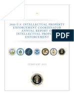 2010 U.S. Intellectual Property Enforcement Coordinator Annual Report on Intellectual Property Enforcement