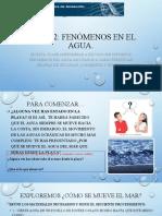 Ciencias fenomenos en el agua 08.05.20