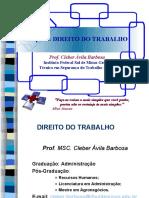 Material de Apoio -  Direito Trabalho - PROF. CLEBER
