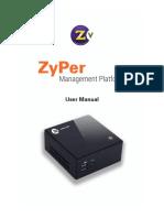Zyper Management Platform User Manual