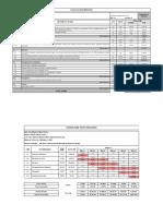 Planilha do Muro orçamento Cronograma
