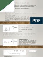 ASOCIACOINES DE CONDENSADORES, BOBINAS Y FUENTES DE CORRIENTE DIRECTA.pptx