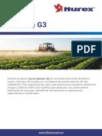 TDS - Nurex Calcium G3