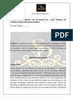Modelo Resposta Acusação - XXV Exame Da OAB
