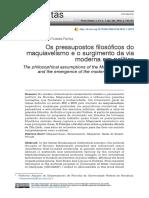 Jacarandá 2016 Os pressupostos filosóficos do maquiavelismo e o surgimento da via moderna em política.pdf