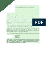 CALCULO E INTERPRETACION DE INDICADORES 1