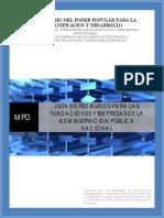 Recaudos para las Fundaciones y Empresas del Estado (1)