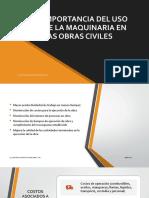 IMPORTANCIA DEL USO DE MAQUINARIA EN LA CONSTRUCCIÓN