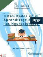 DIFICULTADES EN EL APRENDIZAJE DESDE LAS NEUROCIENCIAS