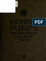 (1920) Deming Pumps for Hand & Power Catalogue No.26