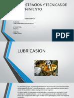 UNIDAD 5.LUBRICACION. ADMINISTRACION Y TECNICAS DE MANTENIMIENTO