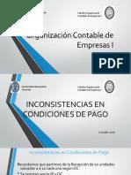 Inconsistencias de Condiciones de Pago - Asientos - ALUMNOS