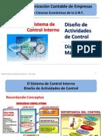 Clase - Diseño de Matrices Actividades de Control Año 2020