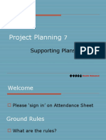 9 Project Supporting Plans (short)