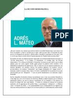 Articulos de Andres L Mateo