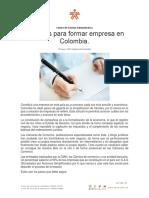 10 pasos para crear una empresa en Colombia  -profe luis