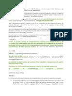 Complementación No 54 entre México y el Mercado Común del Sur