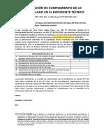 DECLRACIÓN JURADA  CUT 67181-2020