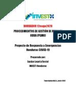 03. Procedimientos de Gestion de Mano de Obra (PGMO) version borrador 12.06.2020
