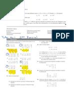 Algebra Lineal de Bernard Kolman Ed Pearson Prentice Hall Cap 1 Sistemas de Ecuaciones y Matrices Taller 1 Segundo Parcial 2020