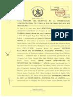 Sentencia Contencioso 2009-12