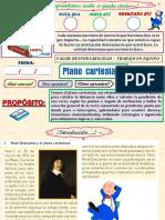 GEOMETRÍA ANALITICA - PLANO CARTESIANO