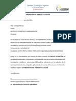 APROBACIÓN DE PLAN DE TITULACIÓN