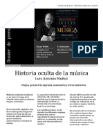 Dosier Historia oculta de la música_