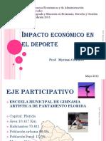 Impacto económico en el deporte-pp Myriam Ordóñez