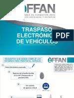11. TRASPASO ELECTRÓNICO DE VEHÍCULOS
