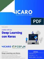 ICARO - Deep Learning con Keras