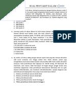 IPD 1 Soal + Kunci