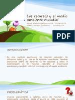 Los recursos y el medio ambiente mundiales