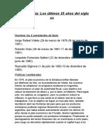 ultimos 25 años del siglo xx argentina.docx