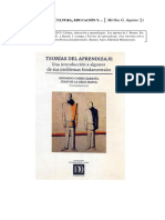 Aquino, M. (2013)  Cultura, educaciòn y aprendizaje. Los aportes de Jerome Bruner