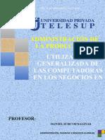 TAREA 03. ADMINISTRACIÓN DE PRODUCTOS I