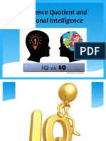 Intelligence Quotient and Emotional Intelligence