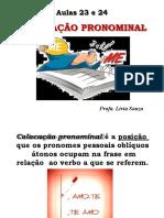 COLOCAÇÃO-PRONOMINAL