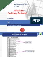 S2- Instalaciones Electricas y Sanitarias