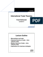 Unit 3 Slides - International Trade Theories