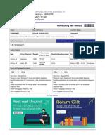 Your IndiGo Itinerary - HNM26E